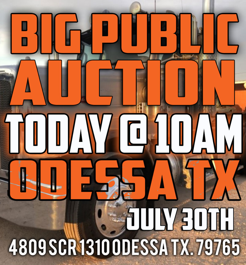 Odessa Big Public Auction July 30th