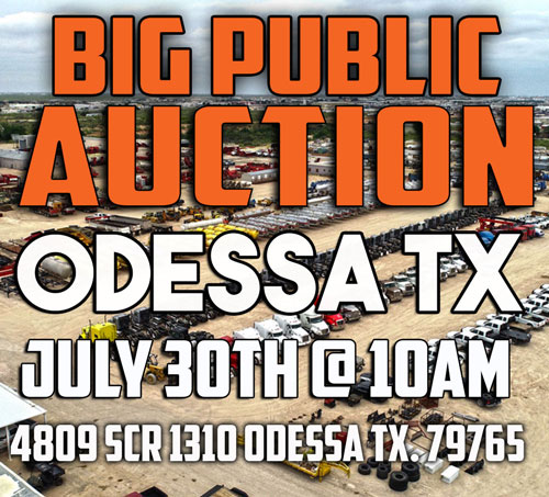 Odessa Big Public Auction July 30th