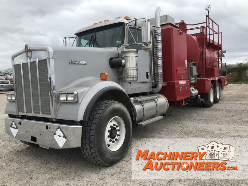 machinery auctioneers hot oiler